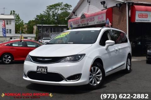 2019 Chrysler Pacifica for sale at www.onlycarsnj.net in Irvington NJ