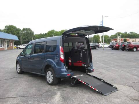 2019 Ford Transit Connect Wagon for sale at AUTOFARM MINIVAN SUPERSTORE in Middletown IN