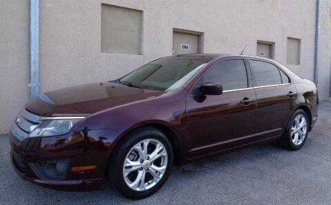 2012 Ford Fusion for sale at Selective Motor Cars in Miami FL