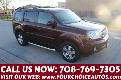 2009 Honda Pilot for sale at Your Choice Autos in Posen IL