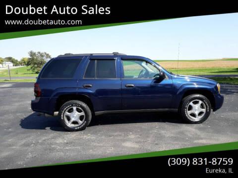 2007 Chevrolet TrailBlazer for sale at Doubet Auto Sales in Eureka IL