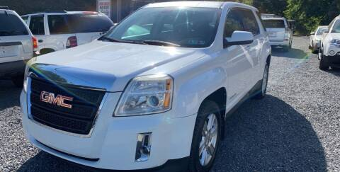 2011 GMC Terrain for sale at JM Auto Sales in Shenandoah PA