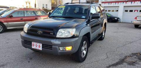 2003 Toyota 4Runner for sale at Union Street Auto in Manchester NH