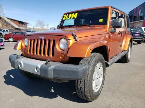 2011 Jeep Wrangler Unlimited for sale at Snyder Motors Inc in Bozeman MT
