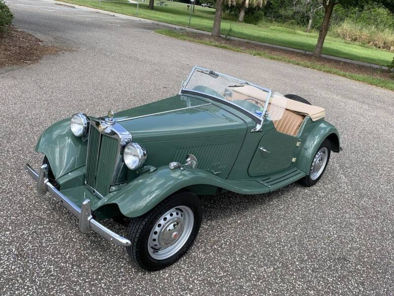 1952 MG TD for sale at P J'S AUTO WORLD-CLASSICS in Clearwater FL