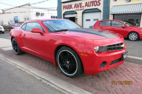 2012 Chevrolet Camaro for sale at PARK AVENUE AUTOS in Collingswood NJ