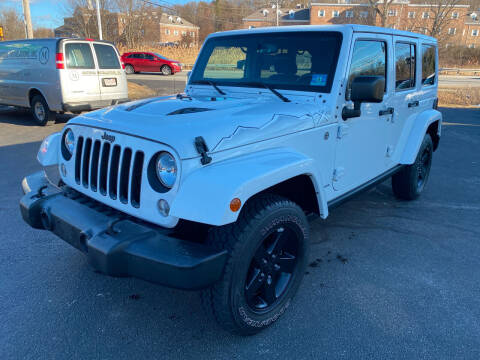 2015 Jeep Wrangler Unlimited for sale at Turnpike Automotive in North Andover MA