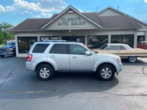 2010 Ford Escape for sale at Clarks Auto Sales in Middletown OH