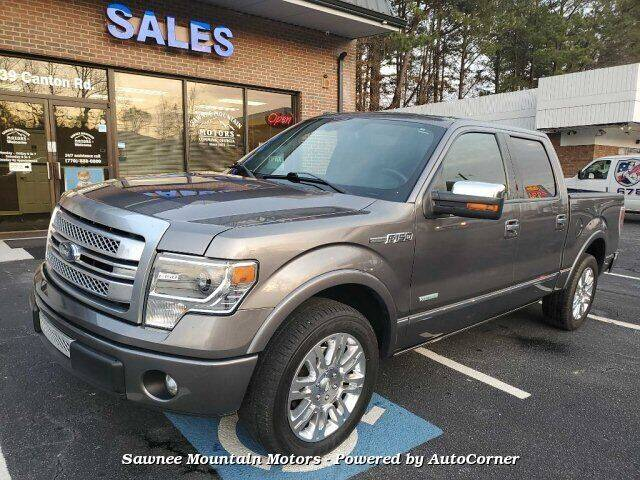 2013 Ford F-150 for sale at Michael D Stout in Cumming GA