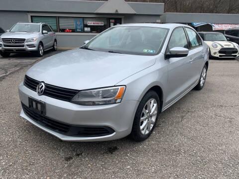 2011 Volkswagen Jetta for sale at B & P Motors LTD in Glenshaw PA