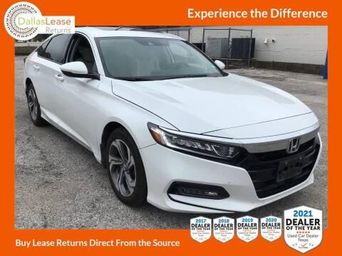 2019 Honda Accord for sale at Dallas Auto Finance in Dallas TX