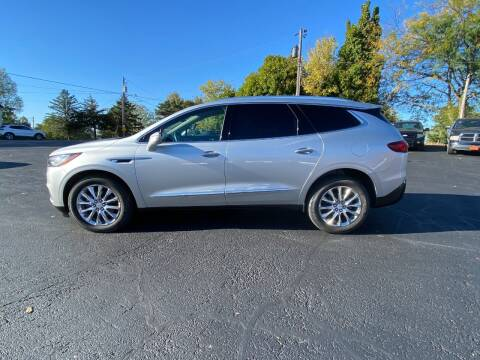 2018 Buick Enclave for sale at Elizabeth Garage Inc in Elizabeth IL
