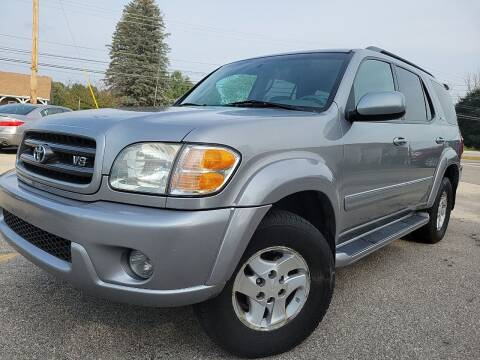 2003 Toyota Sequoia for sale at J's Auto Exchange in Derry NH