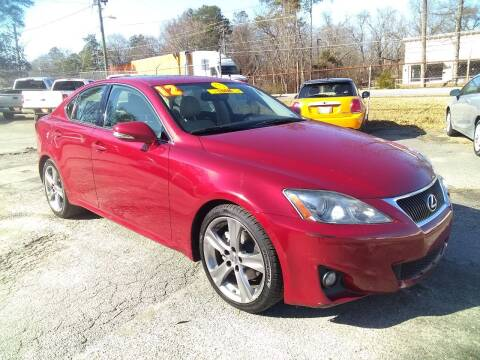 2012 Lexus IS 250 for sale at Import Plus Auto Sales in Norcross GA