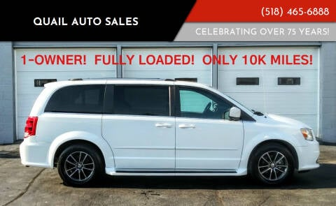 2017 Dodge Grand Caravan for sale at Quail Auto Sales in Albany NY