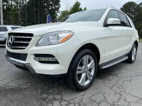 2013 Mercedes-Benz M-Class for sale at Airbase Auto Sales in Cabot AR