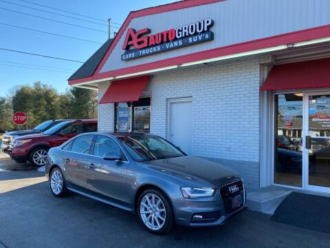 2016 Audi A4 for sale at AG AUTOGROUP in Vineland NJ