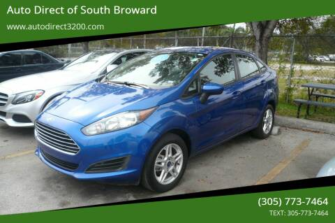 2018 Ford Fiesta for sale at Auto Direct of South Broward in Miramar FL