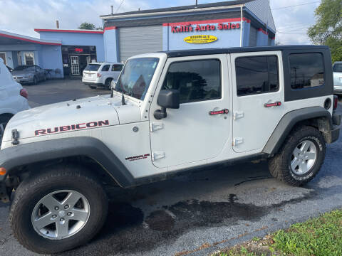 2010 Jeep Wrangler Unlimited for sale at Kellis Auto Sales in Columbus OH