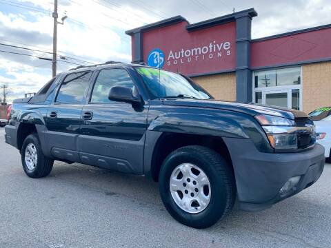 2005 Chevrolet Avalanche for sale at Automotive Solutions in Louisville KY