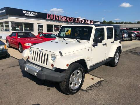 2010 Jeep Wrangler Unlimited for sale at DriveSmart Auto Sales in West Chester OH