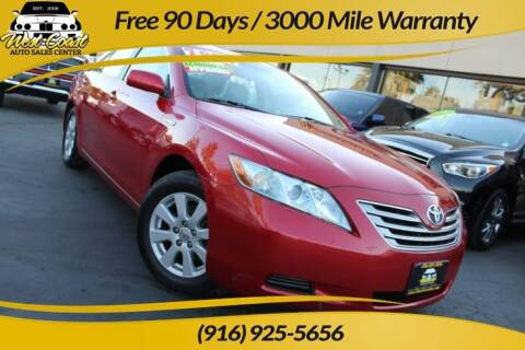 2007 Toyota Camry Hybrid for sale at West Coast Auto Sales Center in Sacramento CA