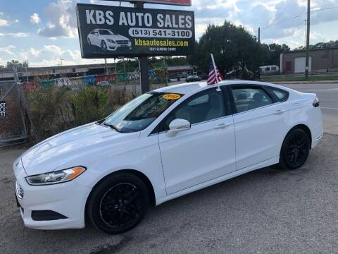 2013 Ford Fusion for sale at KBS Auto Sales in Cincinnati OH