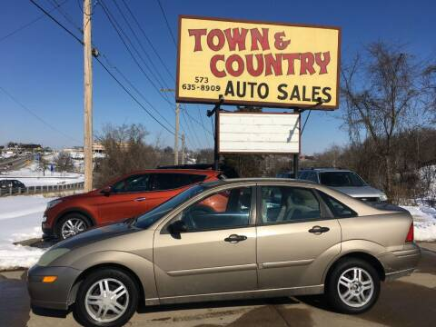 2004 Ford Focus for sale at Town and Country Auto Sales in Jefferson City MO