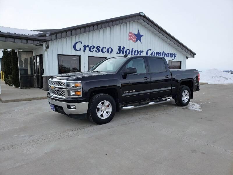 2015 Chevrolet Silverado 1500 for sale at Cresco Motor Company in Cresco IA
