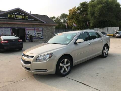 2012 Chevrolet Malibu for sale at HotWheelz Auto Group in Detroit MI