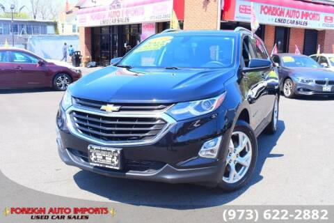 2019 Chevrolet Equinox for sale at www.onlycarsnj.net in Irvington NJ