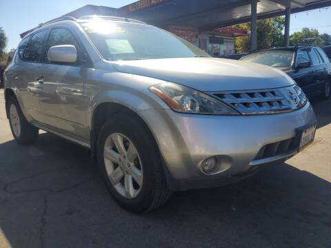 2007 Nissan Murano for sale at ALL CREDIT AUTO SALES in San Jose CA
