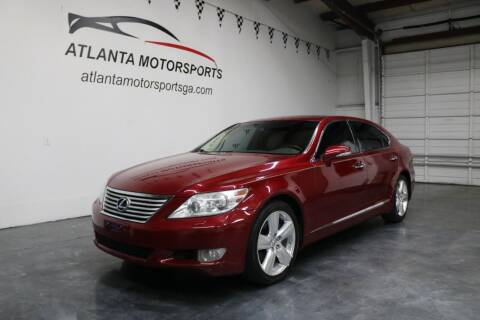2011 Lexus LS 460 for sale at Atlanta Motorsports in Roswell GA