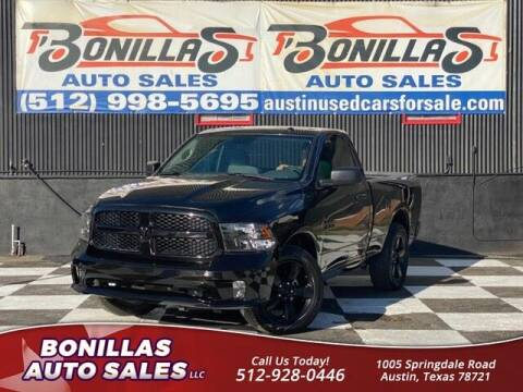 2018 RAM Ram Pickup 1500 for sale at Bonillas Auto Sales in Austin TX