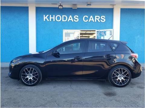 2013 Mazda MAZDA3 for sale at Khodas Cars in Gilroy CA