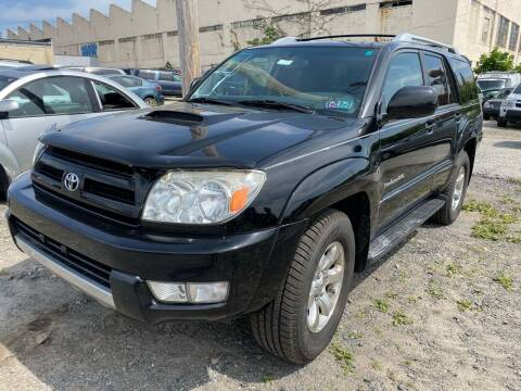 2004 Toyota 4Runner for sale at Philadelphia Public Auto Auction in Philadelphia PA