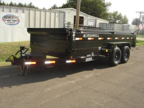2022 83 X 16 IRON BULL DUMP for sale at Midwest Trailer Sales & Service in Agra KS