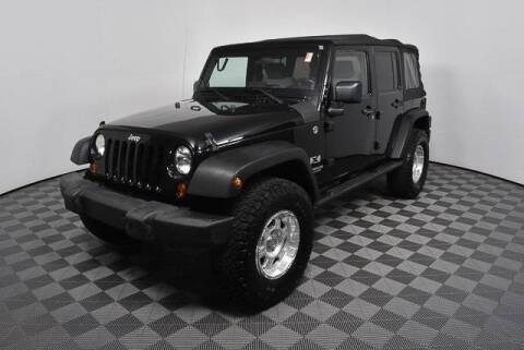 2008 Jeep Wrangler Unlimited for sale at CU Carfinders in Norcross GA