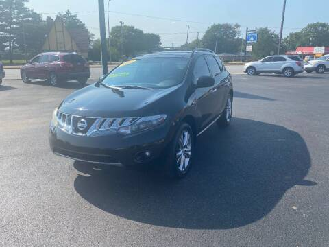 2009 Nissan Murano for sale at Approved Automotive Group in Terre Haute IN