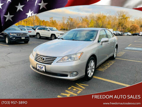2012 Lexus ES 350 for sale at Freedom Auto Sales in Chantilly VA