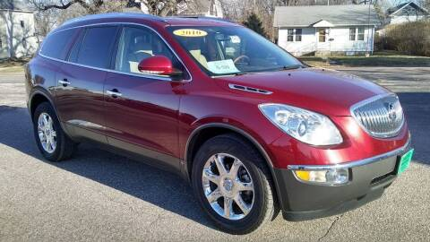 2010 Buick Enclave for sale at Unzen Motors in Milbank SD