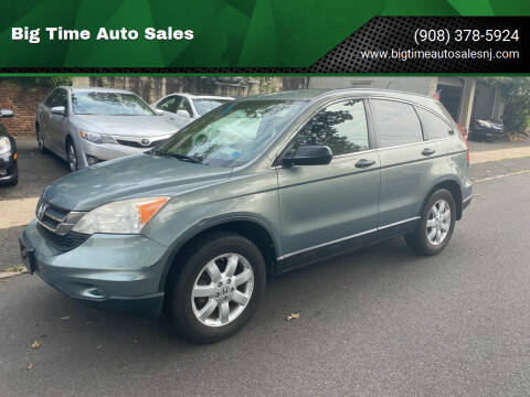 2011 Honda CR-V for sale at Big Time Auto Sales in Vauxhall NJ