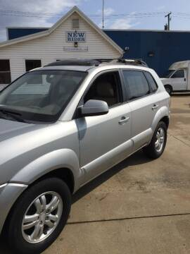 2008 Hyundai Tucson for sale at New Rides in Portsmouth OH