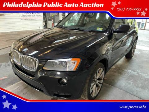 2011 BMW X3 for sale at Philadelphia Public Auto Auction in Philadelphia PA