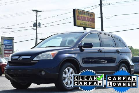 2008 Honda CR-V for sale at Broadway Garage of Columbia County Inc. in Hudson NY
