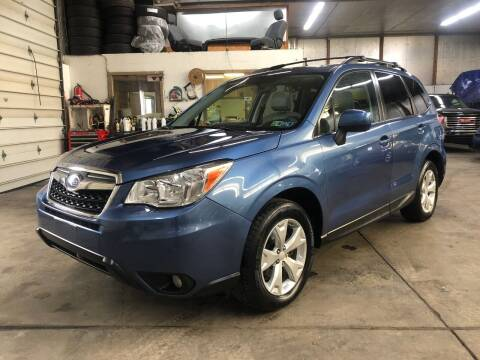 2015 Subaru Forester for sale at T James Motorsports in Gibsonia PA