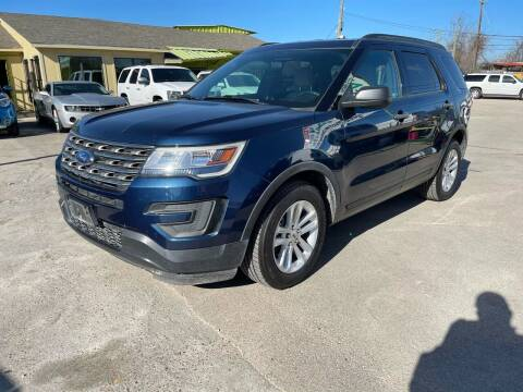 2017 Ford Explorer for sale at RODRIGUEZ MOTORS CO. in Houston TX