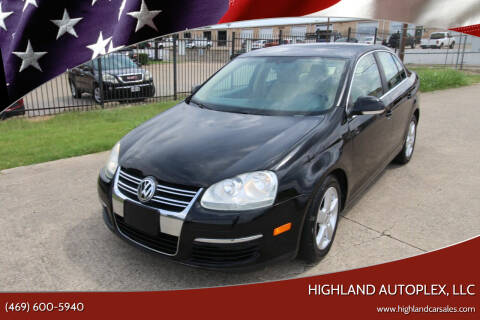 2008 Volkswagen Jetta for sale at Highland Autoplex, LLC in Dallas TX