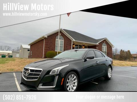 2014 Cadillac CTS for sale at HillView Motors in Shepherdsville KY