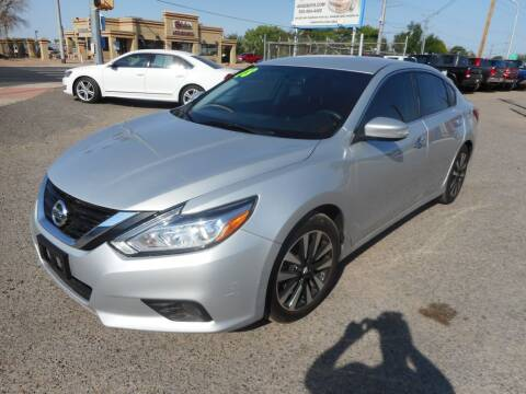 2018 Nissan Altima for sale at AUGE'S SALES AND SERVICE in Belen NM